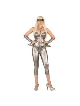 Adult Molten Metal Corset Costume