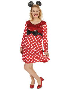 Mommy Mouse Maternity Costume For Adults