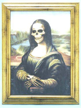 Mona Lisa Deadly Portrait