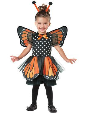 Monarch Butterfly Costume For Toddlers