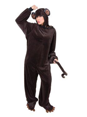 Adult's Micro Fiber Monkey Costume