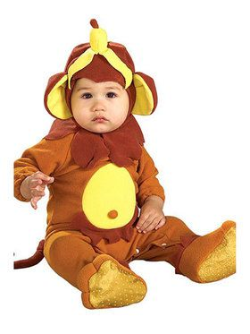 Monkey See, Monkey Doo Romper Infant Costume