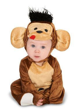 Monkeyin' Around Costume For Babies