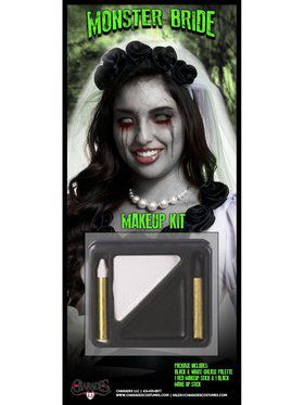Women's Monster Bride Makeup Kit