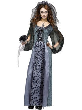 Monster Bride Women's Costume