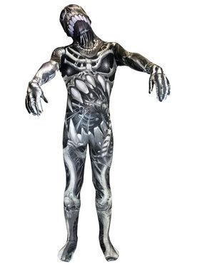 Monster Collection Skull And Bones Morphsuit Boys Costume