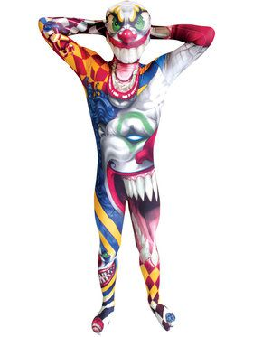 Monster Collection The Clown Morphsuit Boys Costume