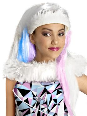 Monster High Abbey Bominable Girls Wig