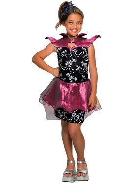Girl's Kid's Draculaura Costume
