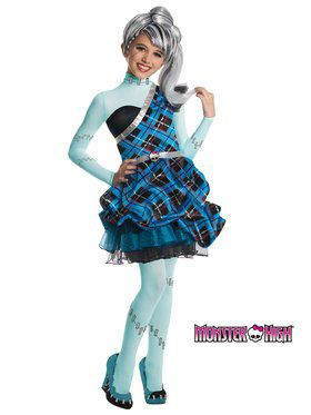Monster High Frankie Stein Sweet 1600 Deluxe Girls Costume