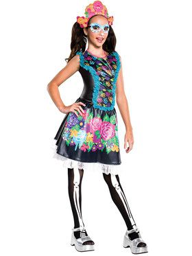 Monster High Skelita Calaveras Girl's Costume