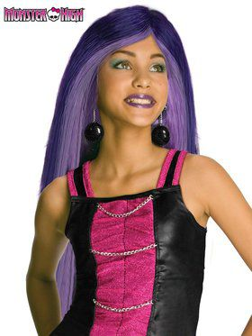 Monster High Spectra Vondergeist Wig for Girls