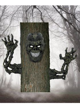 Scary Monster Tree Decoration