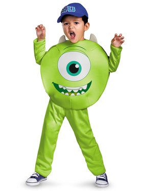 Monsters University Mike Classic Costume For Toddlers