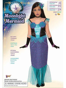 Moonlight Mermaid Child Costume