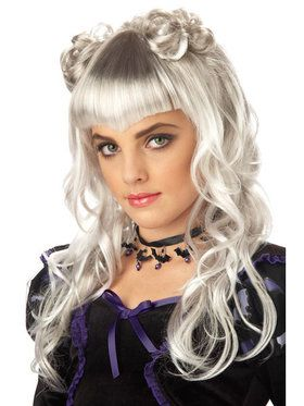 Moonlight White Wig Child/tween