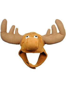 Moose Hat with Chin Strap