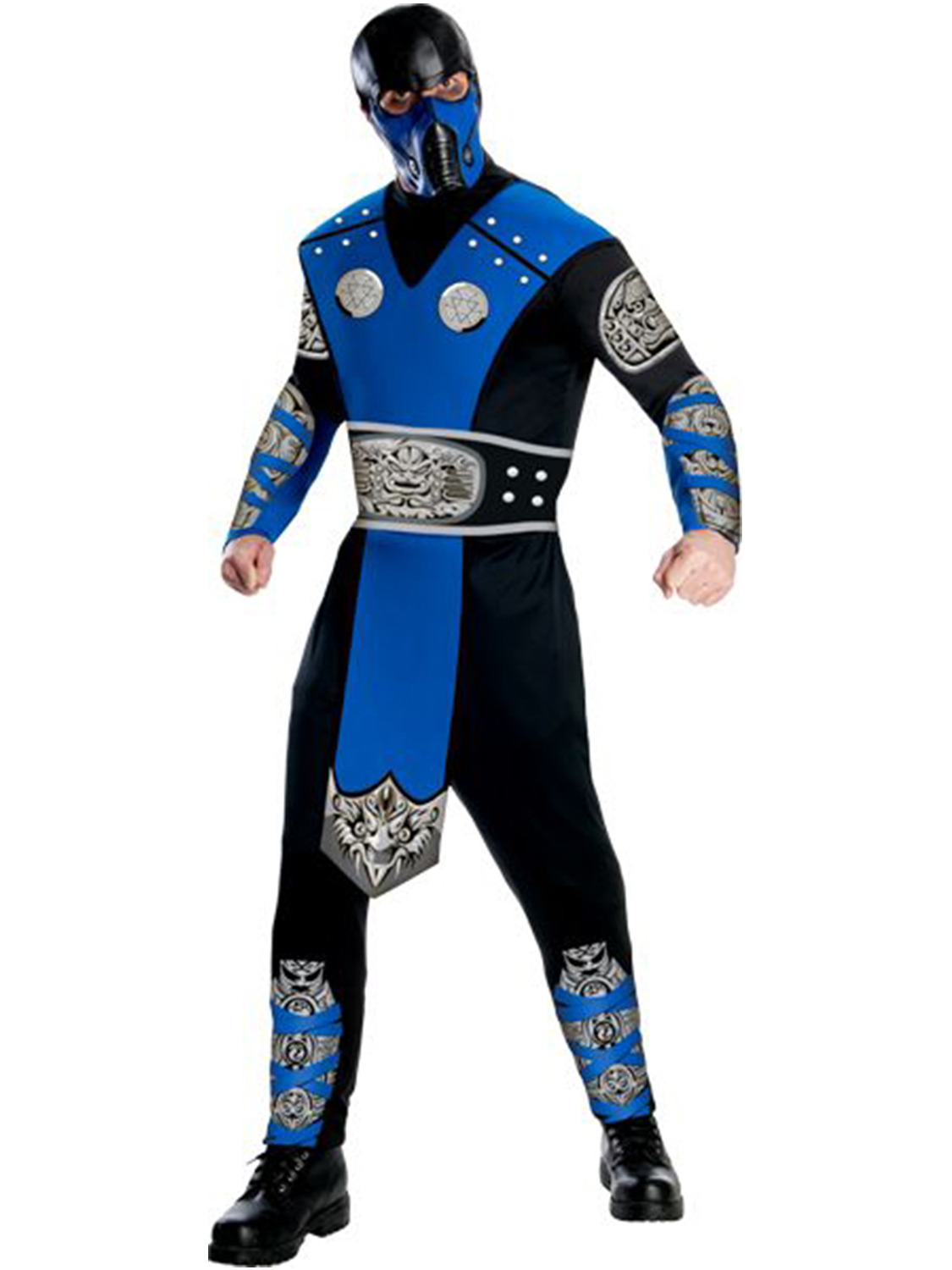 Mortal Kombat Sub-Zero Costume For Adults R880453-XXL