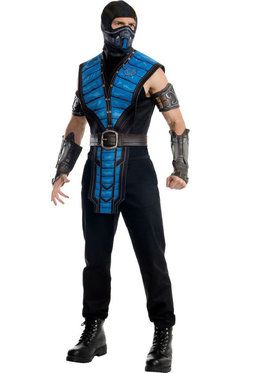 Mortal Kombat Sub-Zero Men's Costume