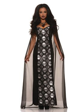 Mortalia Gothic Women's Costume