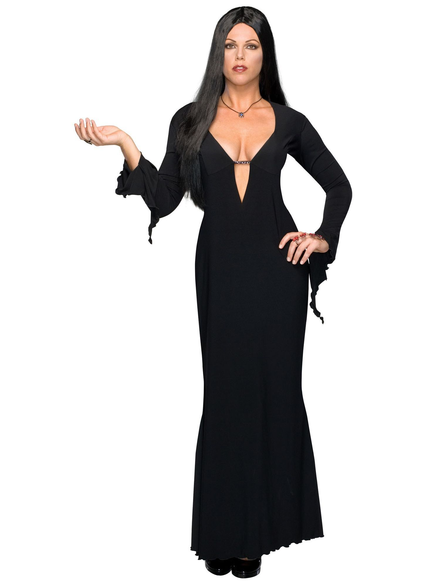 Morticia Plus Costume Womens Costumes For 2018 Wholesale