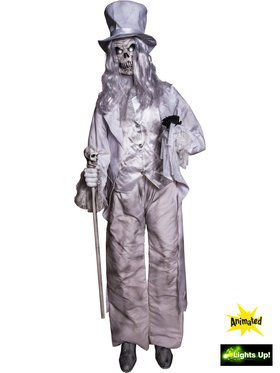 Motion Sensored Ghostly Aristocrat Prop