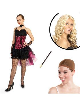 Moulin Rouge Can Can Adult Costume Kit