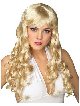 Movie Starlet Wig Blonde Adult