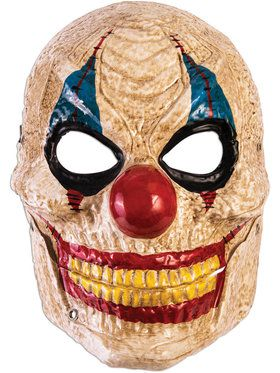Moving Jaw Creepy Clown Mask