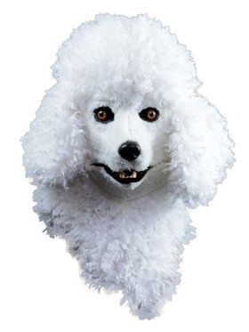 Moving Jaw Poodle Mask for Adults