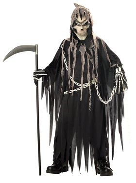 Mr. Grim Costume For Children