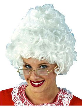 Mrs. Claus Wig