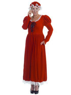 Mrs. Claus Women's Costume