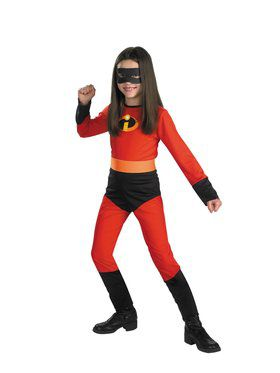 Mrs. Incredible Child Costume