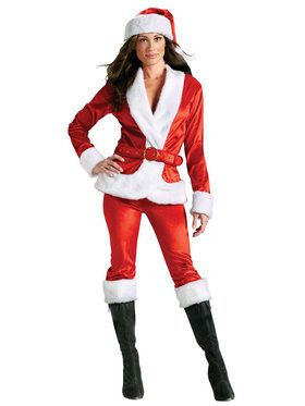 Mrs. Santa Suit Adult Costume SM