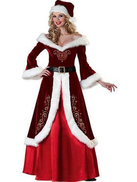 Mrs. St. Nick Women's Costume
