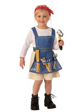 Ms. Fixit Child Costume