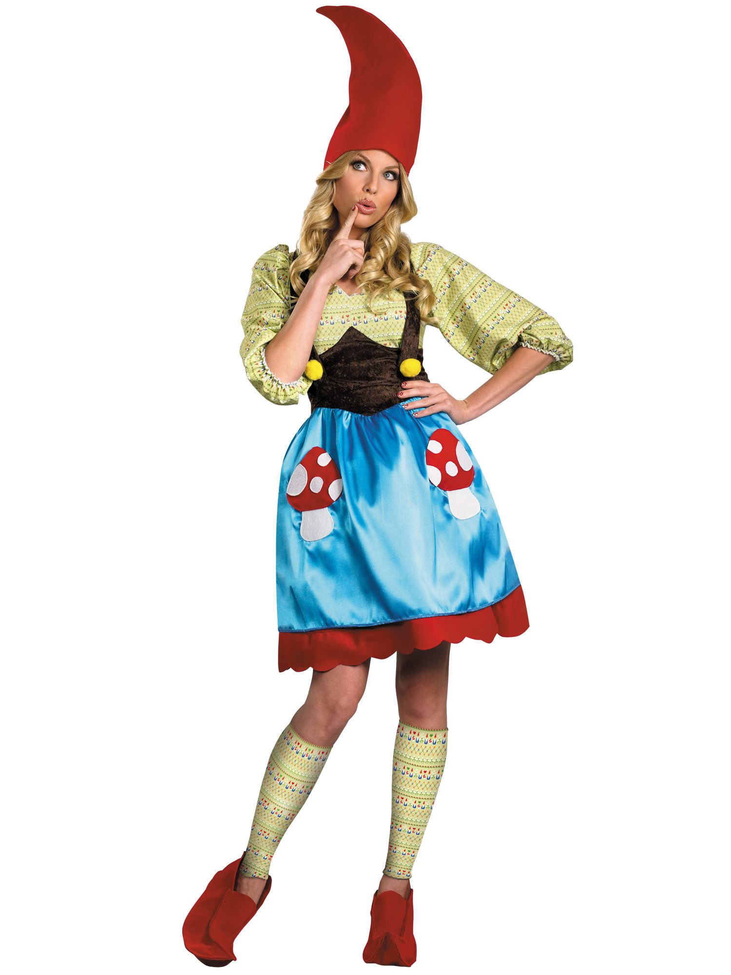 Disguise Inc Womens Ms Gnome Adult Costume