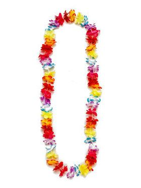 Multi Colored Hula Party Lei