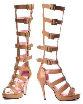 Multi Strap Knee High Sandal Adult