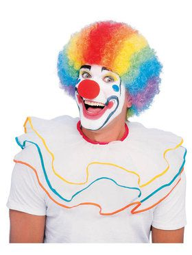 Fluffy Multi-Color Clown Wig for Children