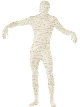 Mummy Second Skin Men's Costume