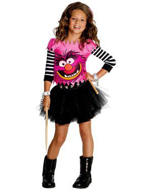 Muppet's Animal Costume for Girls