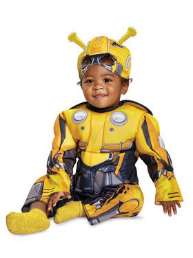Muscle Bumblebee Movie Costume for Toddlers