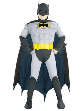 Muscle Chest Batman Kids Costume