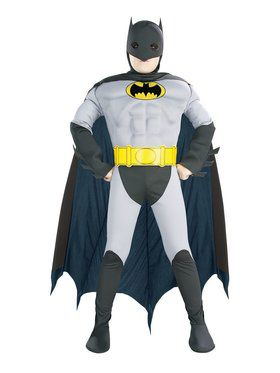 Muscle Chest Batman Toddler Costume