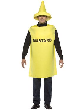 Mustard Costume For Adults
