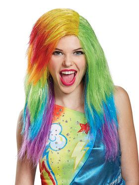 My Little Pony: Rainbow Dash Adult Wig