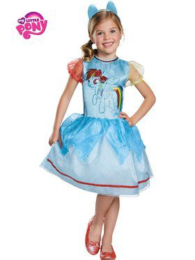 My Little Pony Rainbow Dash Classic Girl's Costume