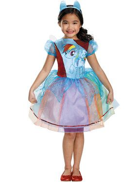 My Little Pony Rainbow Dash Deluxe Girls Costume